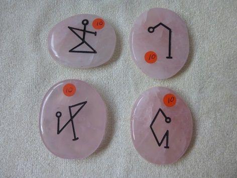 4 Aartsengelen runenset en 4 Elementen reinigingsritueel