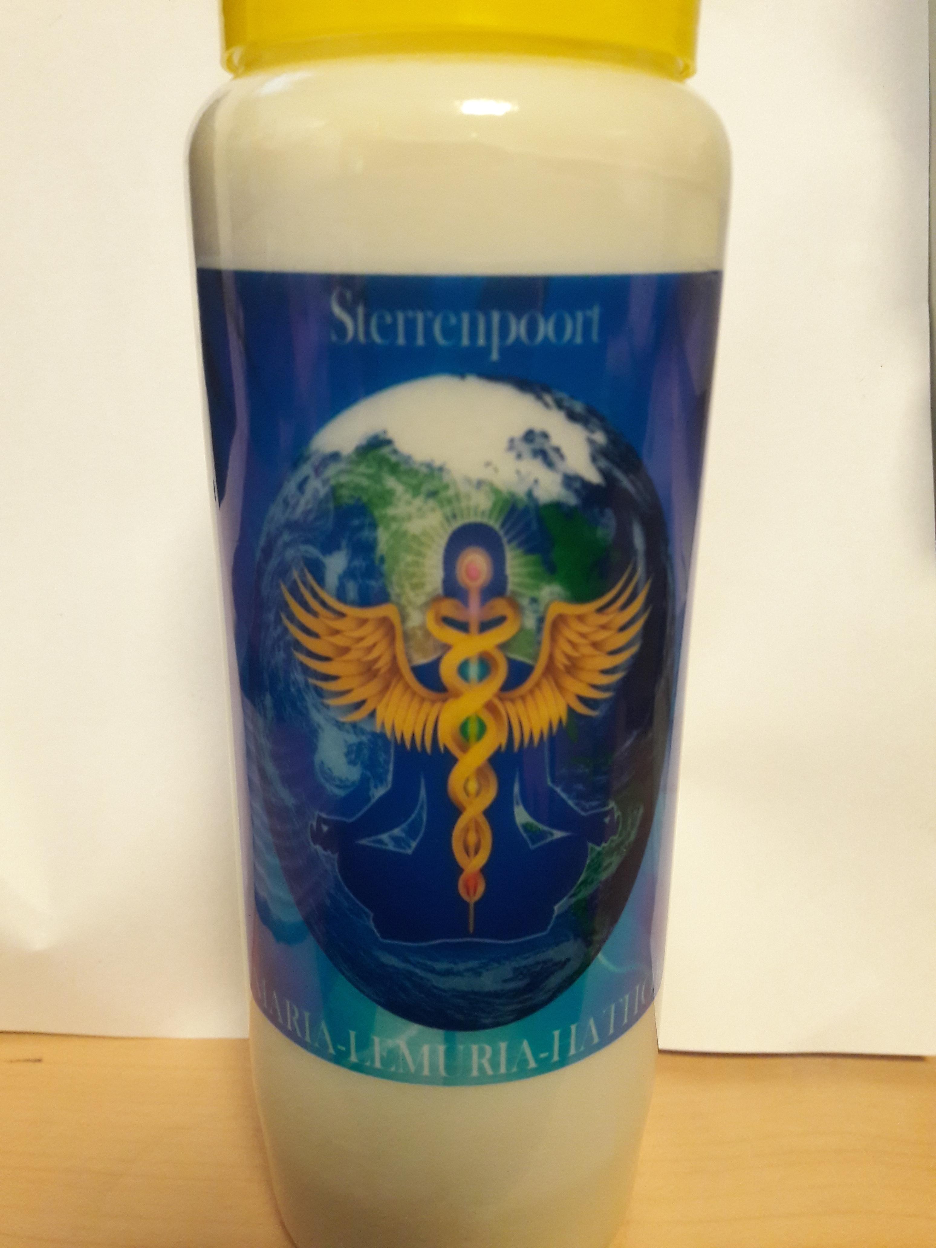 Gewijde Maria-LeMUria-Hathor STERRENPOORT kaarsen